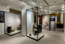 """Spazio CEDIT / CEDIT - Ceramiche d'Italia has opened its new """"Spazio CEDIT"""" showroom in Milan. The concept re-evokes the brand's core values (matter, surface, environment, human component, craftsmanship and Italian identity) and combines design, innovation and functionality to meet the needs of architecture professionals."""