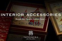 """龍村美術織物 / TATSUMURA / 古代織物の研究と復元、それを基盤としながら「美術織物」という新しい分野を確立した龍村美術織物。現在まで一貫して、世界に美術織物の素晴らしさを発信する当社についてご紹介いたします。 Tatsumura Textile established """"Art Brocade"""" through vast  experience in researching and restoring antique textiles.Inviting you to the voyage of the path of Tatsumura Textile, which dedicated to provide the world with agnificence of art brocade."""