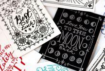 Lettering / hand drawn + digital lettering inspiration