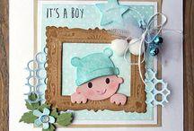 Baby kaarten / leuke baby kaarten