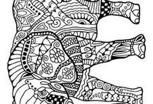 slon tužka