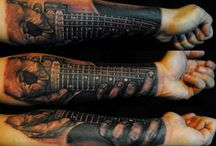 Guitar tatto / Guitar tattoo