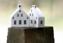 Tiny houses - Mini-maisonnettes / by Maguelonne