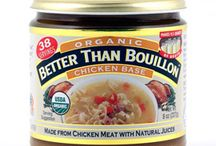 Organic Bases / Better than Bouillon Organic Bases are USDA certified organic & have 95% certified organic ingredients by Quality Assurance International. They are fat free, GMO free, & Non-irradiated 16 oz Case Available on the Food Service Section.