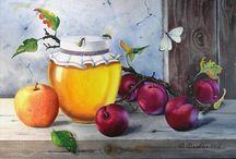 Мёд в живописи