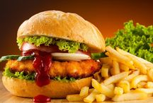 Delicious Veg Burger / stay up to date about Chicken Patty Burger or an Aloo Patty Burger