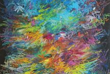 Mario Vespasiani Opere astratte - Abstract paintings / Opere astratte - Abstract paintings