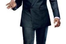 My style dressed / Men's suits classic with a touch of swag / by Kashif