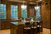 Kitchen Ideas / A look at today's kitchen trends and design ideas...