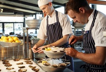 Oysters and crustaceans / The Boathouse on Blackwattle Bay serves Sydney's best array of oysters ...always shucked fresh to order