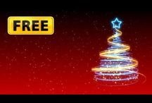FREE Christmas Greetings / Free animated Christmas greetings from ChristmasFootage.com