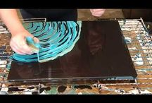 Pittura pouring