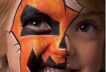 Halloween face painting idea's