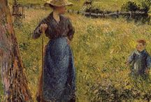 Camille Pissarro / US Virgin Islands Danish French Impressionisr (1830-1903) born in St Thomas
