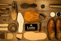 Loake / This board gives you a brief insight into the way Loake produce their high quality footwear. http://www.robinsonsshoes.com/brands/loake.html