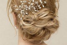 Estilo de penteado de casamento