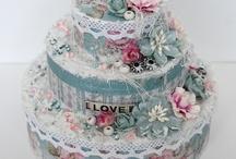 Vintage taart