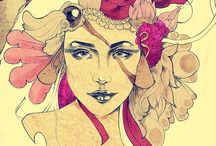 Art Noveau ♡✿⊱ / Art Noveau- 1920s og 30s looks, fashion and art.