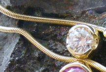 Gold necklaces / Unique necklaces