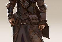 Personagens/roupas/rostos pra RPG