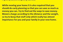 Tips to save money while moving / To shift home is not an easy task; anyone who had shifted earlier can tell or share his or her experience. Actually this is both emotional and physically tiring process from hiring the best movers to saying goodbye to your friends; every step must be planned. For details feel free to visit:- http://supercheapboxes.livejournal.com/675.html