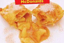 torta de maçã Mac Donalds
