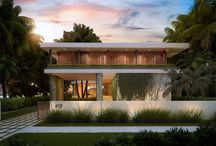 SOLD ~ 412 West Dilido Drive / VENETIAN ISLANDS WATERFRONT LOT....APPROVED & PERMITTED PLANS FOR VENETIAN ISLANDS WATERFRONT HOME BY ARCHITECT MAX STRANG WITH 1,100 SF ROOFTOP TERRACE! Opportunity to customize finishes with plans under old code for 8488 adjusted gross square feet. West facing for gorgeous Miami Sunsets over Infinity Edge Pool & Ipe Wood Summer Kitchen. 7 bedrooms + Media Room; Dining Room + Wet Bar; Elevator to Rooftop; 2 Laundry Rooms; 2 Car Garage + Storage. | Listed for: $7,500,000