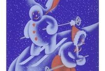Vintage Ski Illustrations / by Vintage Ski Style