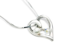 Valentine hearts / jewellery featuring hearts in all shapes and sizes, perfect for Valentines