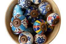 Ceramic Knobs / More than 100 different indian ceramic knobs..