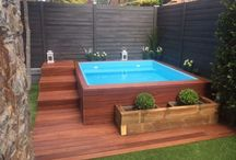 Decks e piscinas