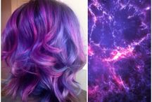Hair dye colors and styles