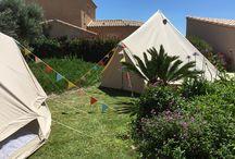 Anniversaire / Louez des tentes pour un anniversaire