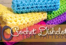 Crocheting Dishcloths
