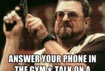 Gym Humor / by Daniel Selden