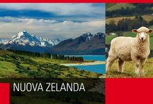 Nuova Zelanda / Il leggendario paese dei Maori, dei ghiacciai che scendono fino a lambire la foresta pluviale, delle colline, vulcani, geyser e laghi turchesi.