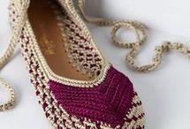 mis zapatos bellos en crochet