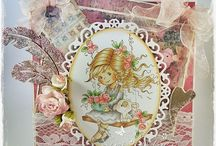 Whimsy Stamps / Stamps including Wee Stamps by Sylvia Zet as well as other Whimsy Stamps.