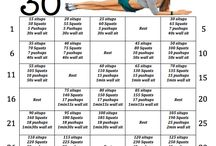 Fitness workout / 30 day work out