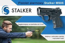 Pistolet alarmowy STALKER M906 / Pistolet hukowy STALKER M906 http://stalker.bron.pl/