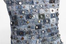 återbruk med jeans