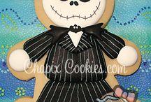 Halloween - Monster - Skull Cookies / by Jennifer Skaggs