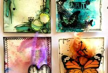ATC's ~ Artist Trading Cards