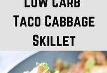Taco cabbage