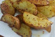 Patates elma silim fırında