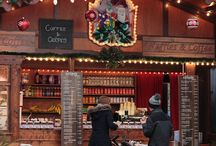 German Christmas Market Theming Inspiration & Ideas / Ideas and inspiration for dressing parties with a German / Bavarian Christmas market theme. With the exception of the inspiration images, all images are our own.