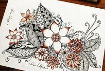 Zentangle art to inspire