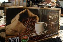 La Crema Kaffe på Mørketidsfest med Julemarked
