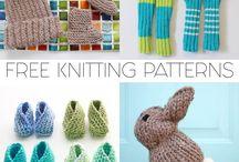Knitting - baby multiple patterns