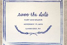 Fancy Save The Date / by Pauleenanne Design